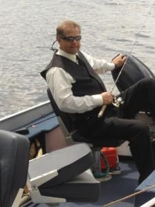 Formal fishing w/Steve